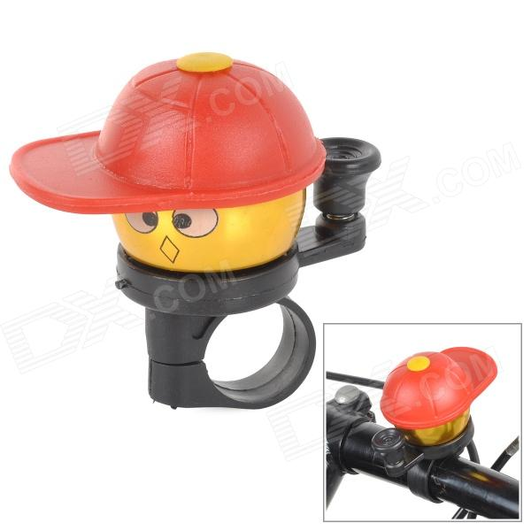 Cute Cartoon Style Bicycle Ring Bell - Red + Golden + Black