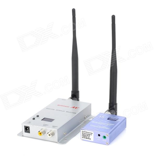 1.2G Wireless Room-to-Room 15-channel Audio/Video Sender Transceiver (DC 12V)