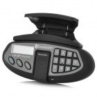 ZHUOZHOU LV-5609 Bluetooth V2.0 Car Steering Wheel MP3 Player w/ FM Transmitter / TF - Black
