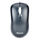 Microsoft 800dpi Optical USB Wired Mouse - Black (180cm-Cable)