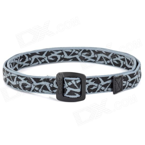 CAXA D3041CA Outdoor Quick-Dry Tactical Unisex Waist Belt - Greyish Blue + Black