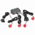 XY-5209 Visible Parking Sensor - Black + Red