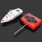 SHEN QI WEI 3392 Mini 4-CH High Powered R/C Racing Boat - White
