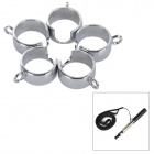 E-Cigarettes Stainless Steel Strap Ring for EGO Series - Silver (5PCS)