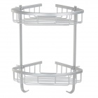 BAIYU BY-2611 Handy Durable Aluminium Alloy Bathroom Rack - Silver Gray