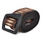 CAXA D3044CA Outdoor Quick-Dry Tactical Unisex Waist Belt - Coffee + Black