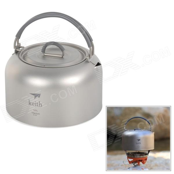 Keith Titanium Kettle Camping Picnic Cookware Pot - Silver GreyForm  ColorSilver GreyBrandOthers,keithModelKA101Quantity1 DX.PCM.Model.AttributeModel.UnitMaterialTitaniumBest UseFamily &amp; car camping,Camping,Travel,CyclingTypePots &amp; PansOther FeaturesShort spout specially designed for packing, prevent scratch the belongingsPacking List1 x Kettle1 x Storage pouch<br>