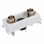 K86-911 2 BNC Female + DC Male Welding Module - White