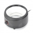 70W Kitchen Chocolate Melt Pot - Black + Silver