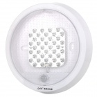 5W 210lm 6000K 45-LED White IR Sensor Light Motion Sensor Lamp (AC 220V)