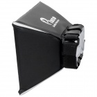 Universal Folding External Flash Diffuser Soft Cover - Black + White