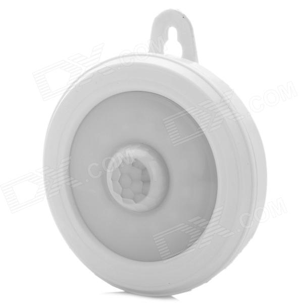 2W 20LM 6500K Lumière blanche 12-3528 SMD LED lampe à induction infrarouge à corps humain - Blanc (4.5V)