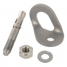 Keith KE381 Titanium Expansion Screw + Hanger Set - Silver Grey
