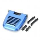 Foldable Plastic Drink Holder for Car - Blue + Black