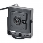 Mini 420-Line CMOS 3.0MP CCTV Camera - Black