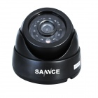 SANNCE P2P HDMI 4-Channel H.264 DVR + 4 x 600TVL Dome Cameras CCTV Security System w/ 500GB HDD