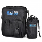 Ilure BKTZ-TB-22 Multifunctional Oxford Fishing Waist Bag - Black