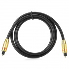 Male to Male Optical Audio Cable - Golden + Black