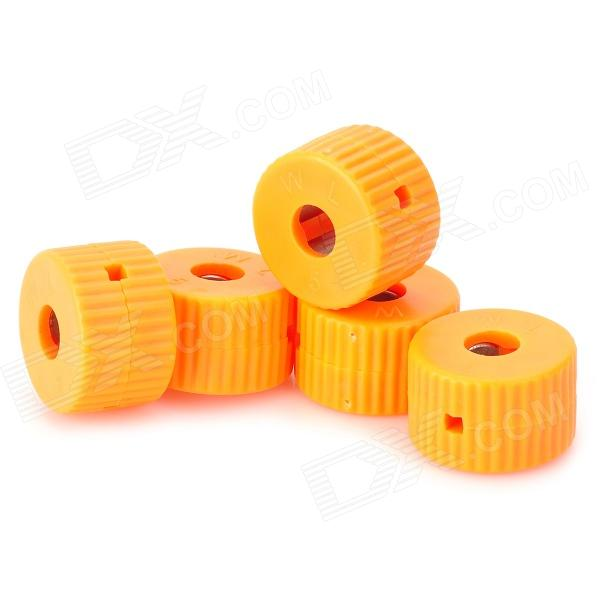 Anillo magnético LSON 5mm Destornillador magnetizador - Orange (5 PCS)