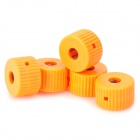 LSON 5mm Screwdriver Magnetizer Magnetic Ring - Orange (5 PCS)