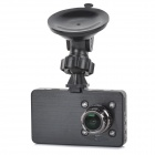"3.0"" TFT 3.0MP Full HD 1080P 140 Degrees Wide Angle Car DVR w/ G-Sensor / IR Night Vision - Black"