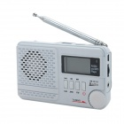 "SAYIN SY-1192 1.4"" LCD M1 / FM / MW / SW14 Stereo Radio w/ Antenna / USB / TF / MP3 / Clock - White"