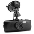 "G1WH 2.7"" TFT 3.0MP CMOS Full HD 1080P 140 Degree Wide Angle Car DVR w/ G-sensor / TF - Black"