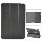 Protective PC + PU Case w/ Stand for Retina IPAD MINI - Black