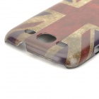 Retro UK National Flag Style Protective PC Back Case for Samsung Galaxy S3 i9300 - Red + Blue