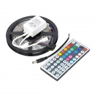 Regulador alejado 36W 1200lm 150-SMD 5050 LED RGB luz de tira decorativa w / 44-Key (12V)
