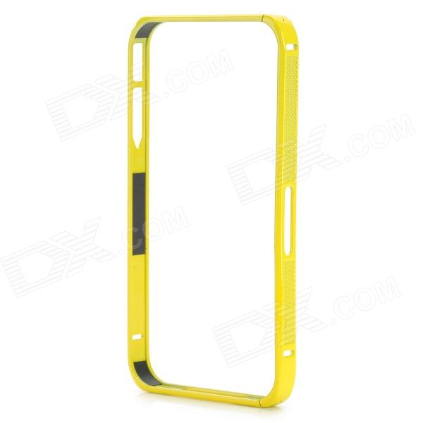 S-What Ultra Thin Aluminium Alloy Bumper Frame for IPHONE 4 / 4S - Yellow