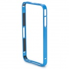 S-What Ultra Thin Aluminium Alloy Bumper Frame for iPhone 4 / 4S - Blue