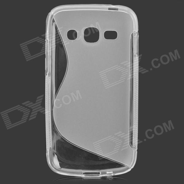 S Style Anti-Slip Protective TPU Case for Samsung Galaxy Ace 3 S7272 / S7275 - Translucent White чехол для для мобильных телефонов other sumsung galaxy s3 i9300 android