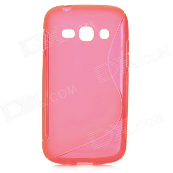 S Style Anti-Slip Protective TPU Case for Samsung Galaxy Ace 3 S7272 / S7275 / S7270 - Deep Pink стоимость