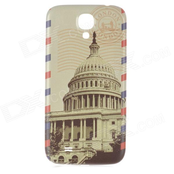 United States Capitol Pattern Replacement PC Back Cover for Samsung Galaxy S4 / i9500