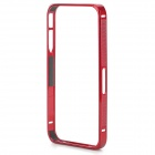 S-What Ultra Thin Aluminium Alloy Bumper Frame for IPHONE 4 / 4S - Red
