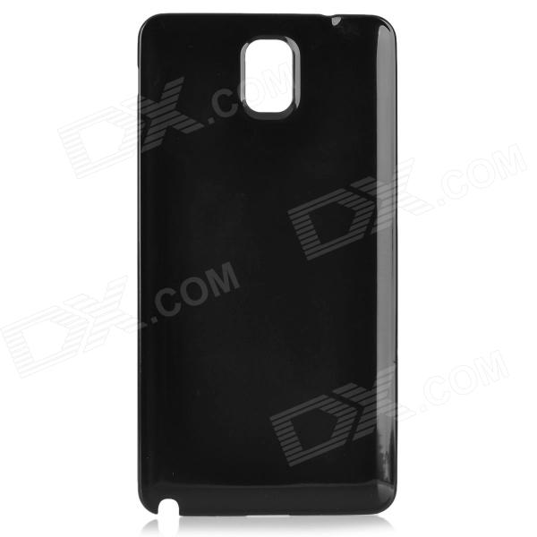 Replacement PC Battery Back Cover Case for Samsung Galaxy Note 3 N9000 - Black 8x zoom telescope lens back case for samsung i9100 black