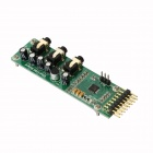 Waveshare UDA1380 Board UDA 1380 Module Stereo Audio Codecs Decoder Based on I2S Interface - Green