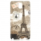 Eiffel Tower Style Replacement PC Battery Back Cover Case for Samsung Galaxy Note 3 N9000 - Grey