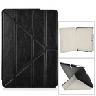 Transformable Protective PU Leather Case for Samsung Galaxy Note 10.1 2014 Edition - Black