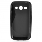 """S"" Style Anti-Slip Protective TPU Back Case for Samsung Galaxy Ace 3 S7272 / S7275 / S7270 - Black"