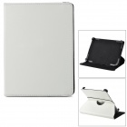 "Universal Protective ABS Case w/ Stand for 8"" Tablets - White"