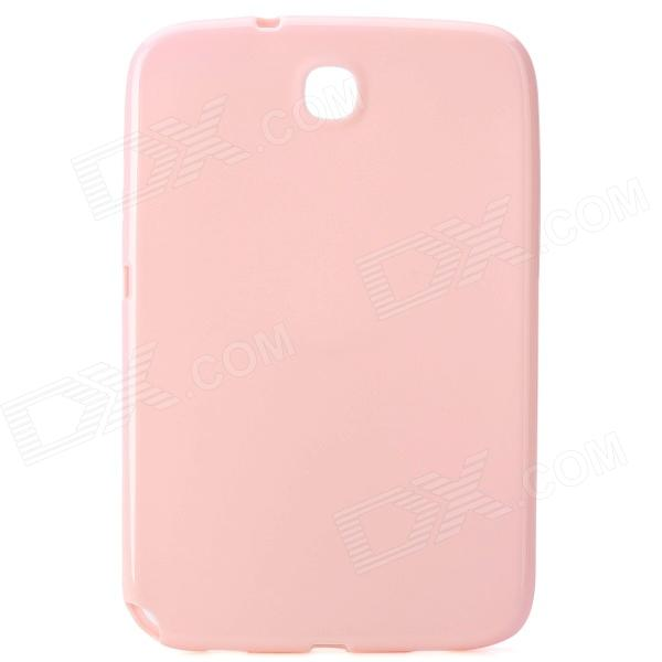 Protective TPU Back Case for Samsung Galaxy Note 8.0 N5100 / N5110 - Pink metal ring holder combo phone bag luxury shockproof case for samsung galaxy note 8