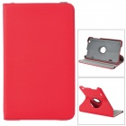 360 Degree Rotary Protective Denim Case w/ Stand for LG G Pad 8.3 - Red