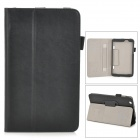 Protective PU Leather Case w/ Hand Strap Holder for LG G Pad 8.3 V500 - Black
