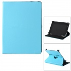 "Universal Protective PU Leather + ABS Case for 8"" Tablet PC - Light Blue"