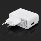 IKKI EU Plug Power Adapter w/ Charging Data Nylon Cable for Samsung T310 / T210 / P5200 + More