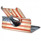 US National Flag Pattern Protective 360 ​​graders rotasjon PU Leather Case for Samsung T210 / T211