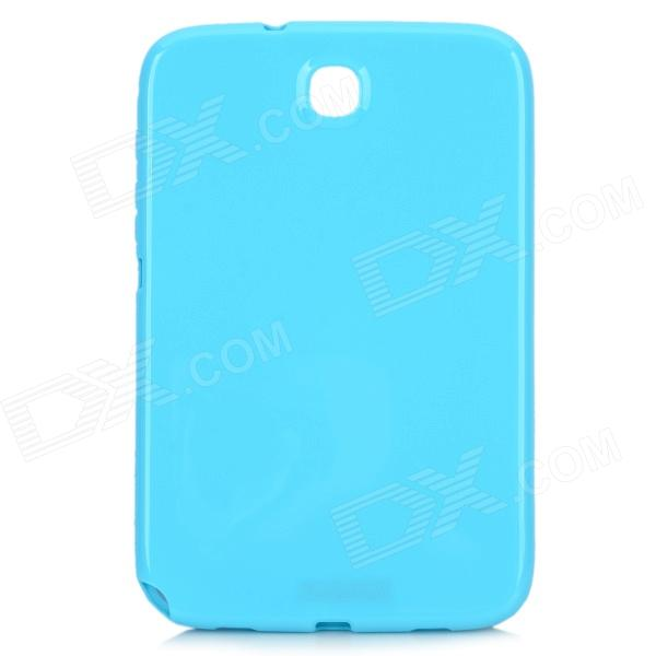 Protective TPU Back Case for Samsung Galaxy Note 8.0 N5100 / N5110 - Sky Blue