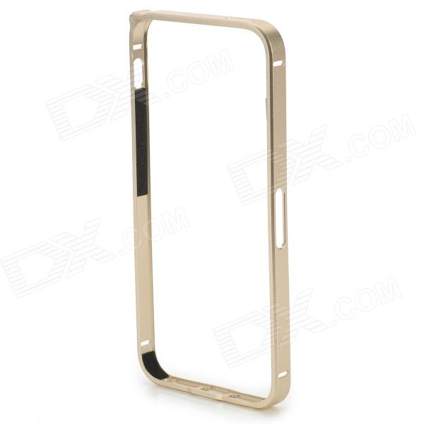 S-What Ultra Thin Lithium Alloy Bumper Frame w/ Volume Button Sheel for IPHONE 5 / 5S - Golden et lae900 original projector lamp module hs120ar10 4d for pana sonic pt ae900 pt ae900u
